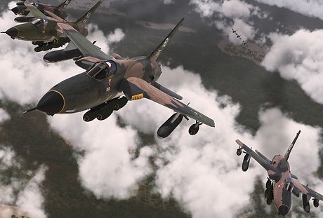 "Republic F-105D Thunderchiefs ""Bringing the Thunder"""