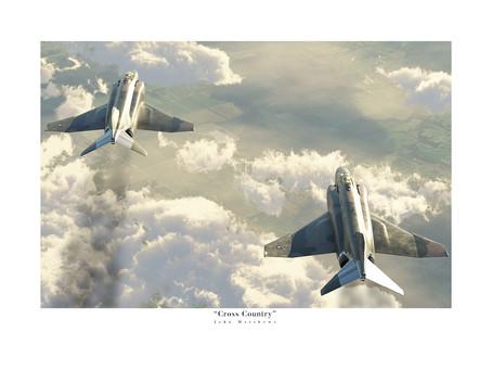 New B-52 Stratofortress and F-4 Phantom Artwork!