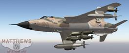 F-105 Thunderchief Reverse Camouflage