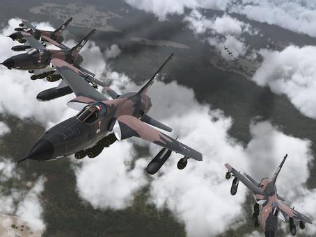 Pre Strike: F-105D Thunderchiefs