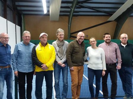 Mitgliederversammlung beim Tennisclub Blau Weiß in Bad Neustadt mit Neuwahlen des Vorstandes