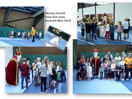 Nikolausbesuch beim Tennisclub Blau Weiß in Bad Neustadt