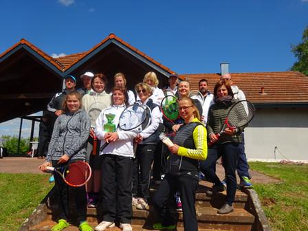 Tennisclub Blau Weiß Bad Neustadt eröffnet die Freiluftsaison
