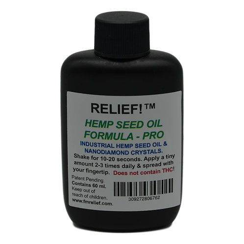 RELIEF!™ Hemp Seed Oil - Professional Size