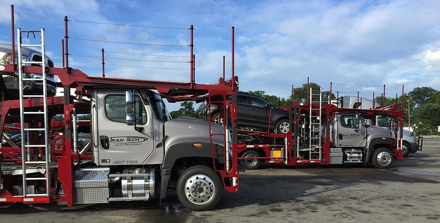 Tran Tech Truck Lineup