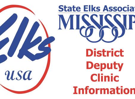 District Deputy Clinic