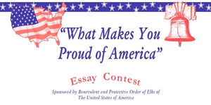 essays about being proud to be american
