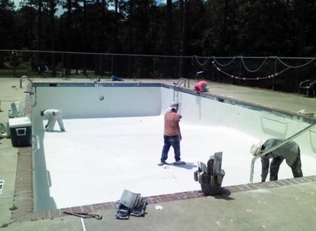 Elks Camp Pool Repairs