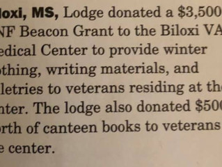 Two Lodges featured in Elks Magazine