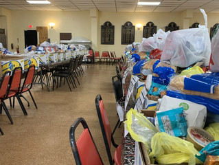 Pascagoula Elks Christmas Baskets