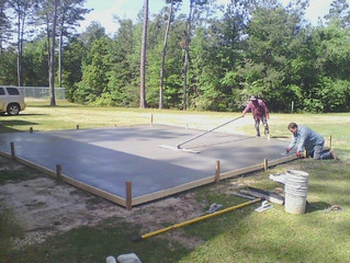Hoop Shoot Practice Court