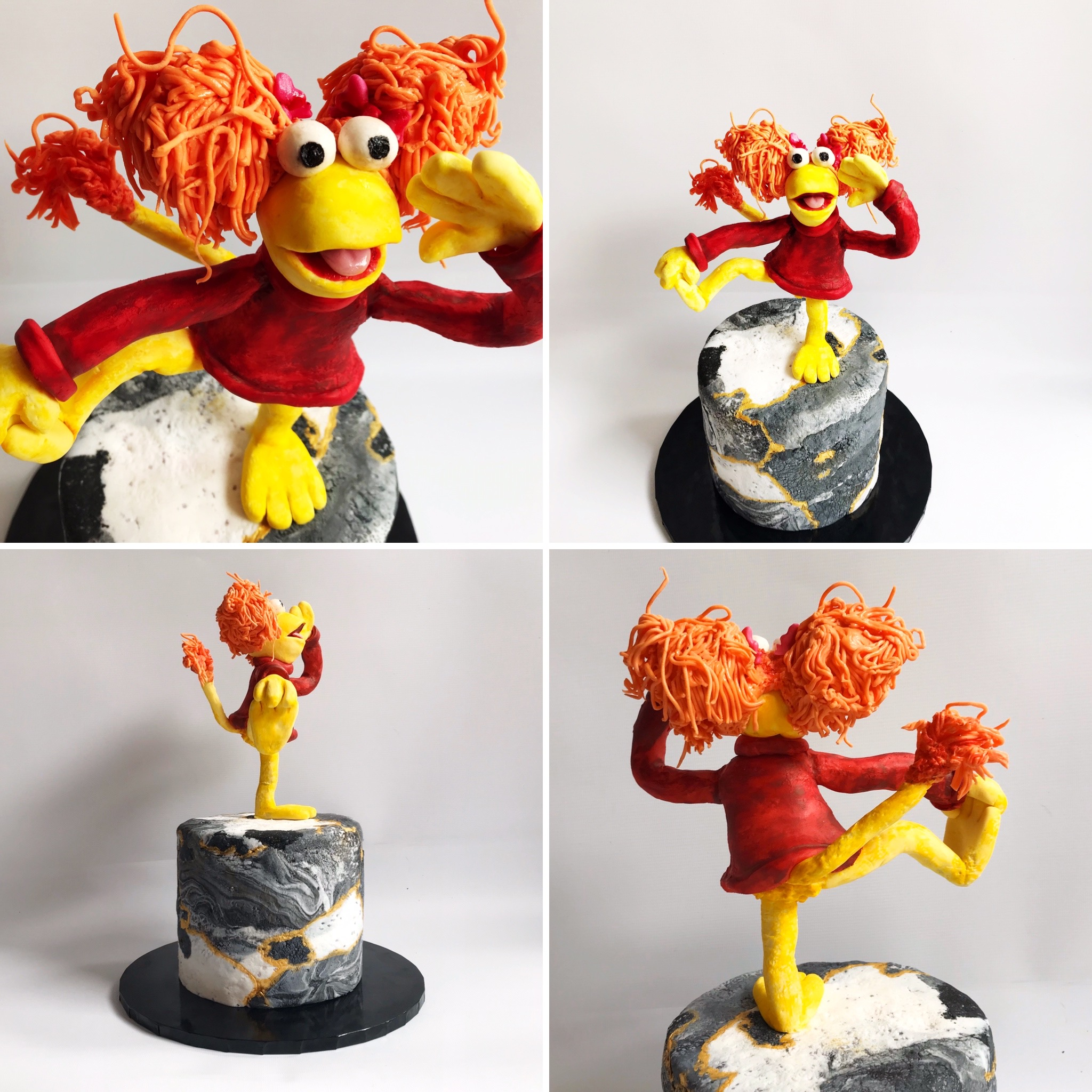 Red Fraggle Rock Cake
