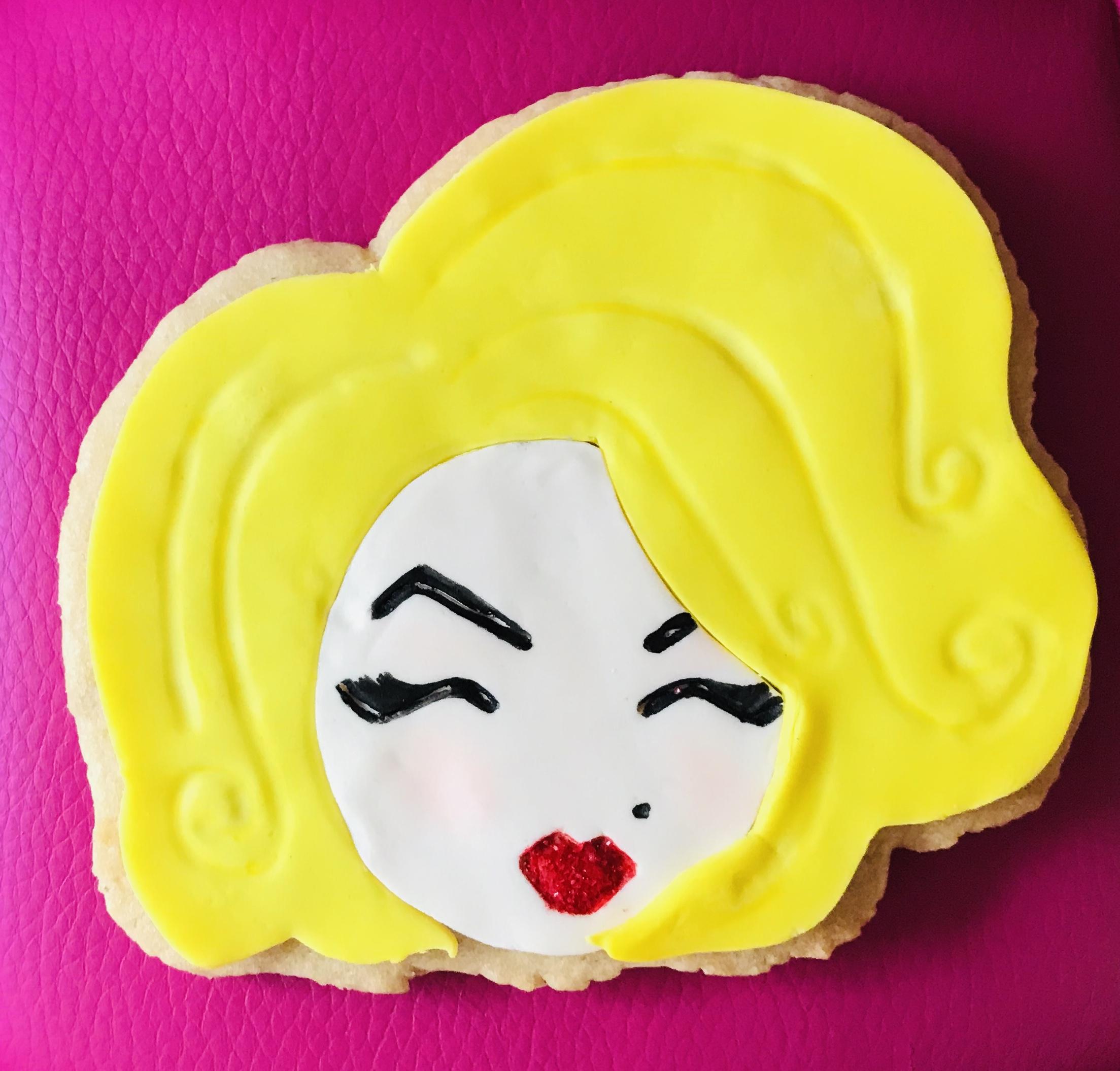 Marilyn Cookie