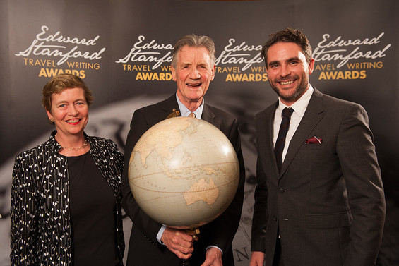 """Michael Palin honoured for outstanding contribution while """"passion and anger"""" of  Julian Sayarer&#39"""