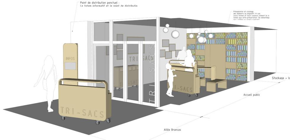 Boutique Tri-sac