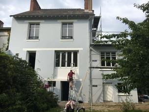 Restructuration et rénovation complète d'une maison nantaise