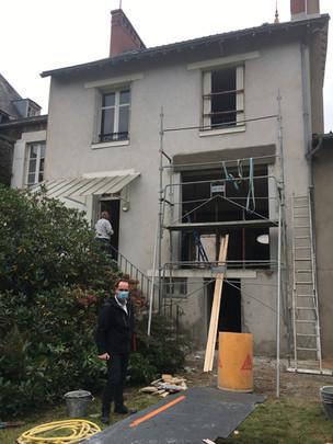 Restructuration et rénovation complète de cette maison des années 30