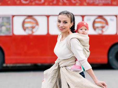 Babywearing travelling guide