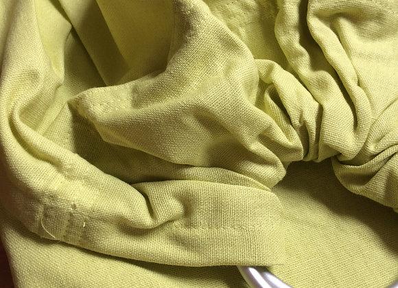 Linen ring sling LIMELIGHT