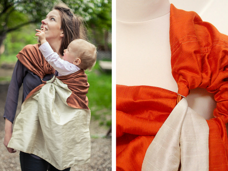 3 cool babywearing fabrics for hot summer days