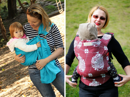 Ring sling versus Soft-structured carrier - how are they different?