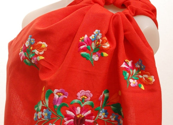 Heritage #102 - handembroidered ring sling