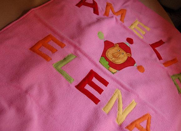 Păturica personalizată