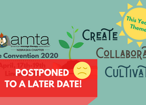 AMTA-NE 2020 State Convention Postponed to a later date (TBD)