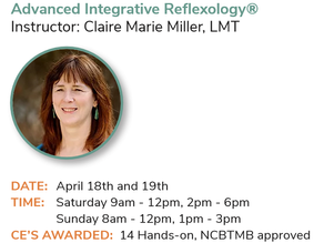 Advanced Reflexology® at the 2020 AMTA-NE State Convention