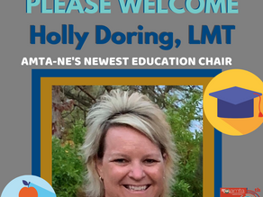 AMTA-NE Welcomes Holly Doring, LMT to our team