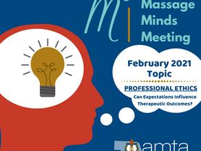 M^3: Massage Minds Meeting: February