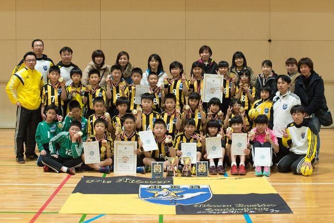 第55回北海道選手権、第11回道産子大会で男女優勝!3大会制覇達成!