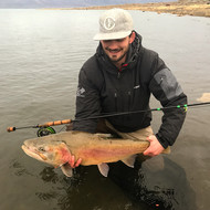 Pyramid Lake Lohonton Cutthroat taken on CF Burkheimer 796 with VersaSwitch extension