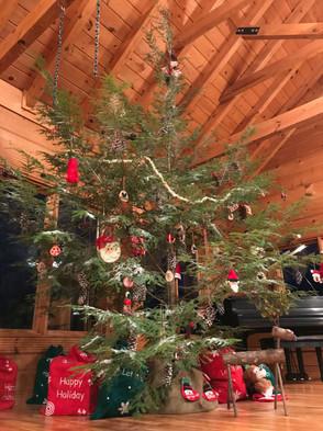 Lodge Christmas tree