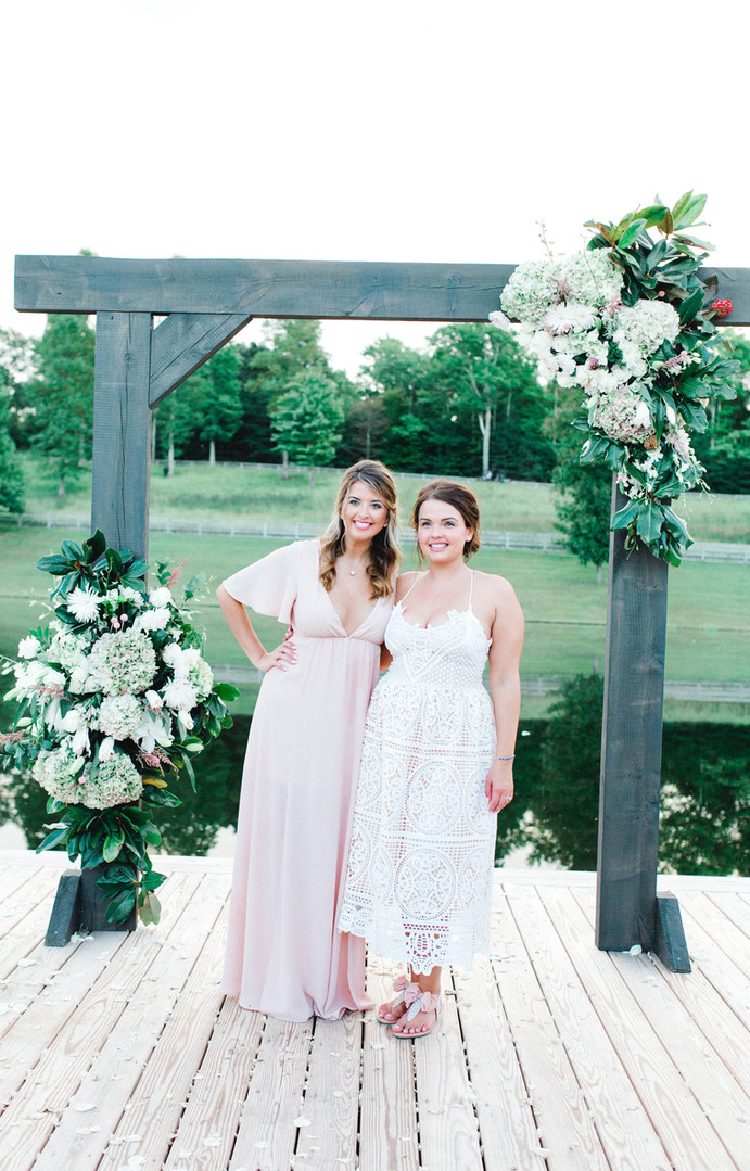 Bride & Maid of Honor, Besties since 2nd grade