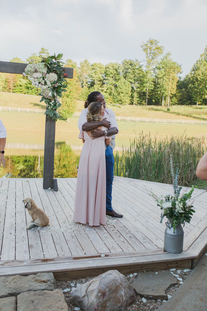 Maid of Honor special hugs