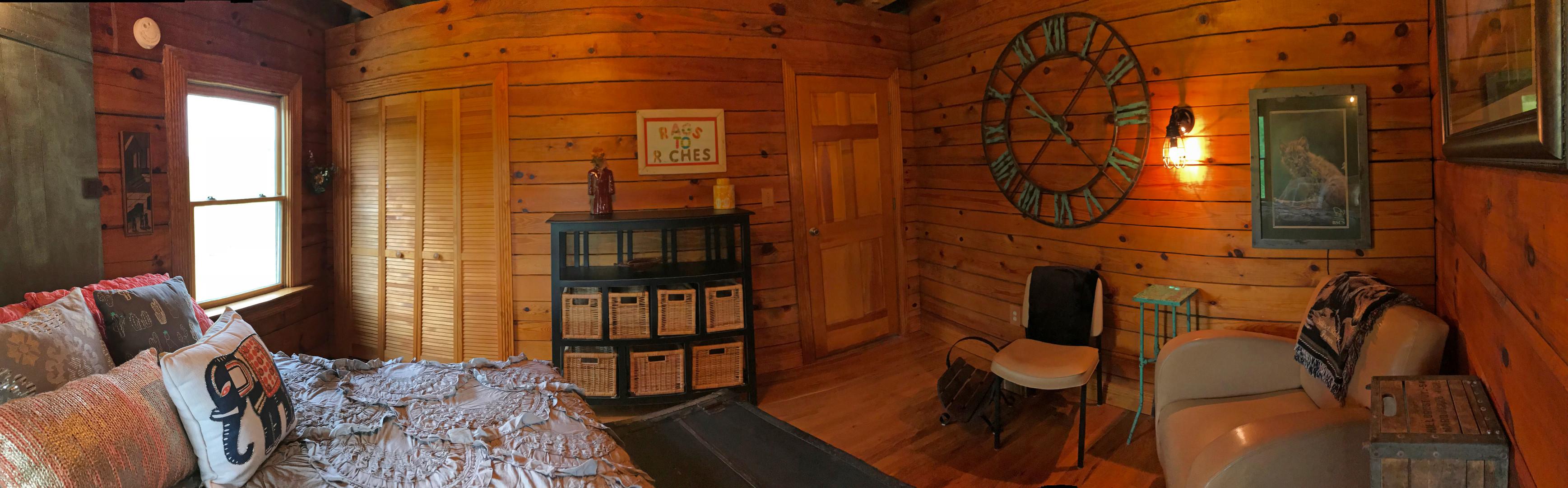 Lodge bedroom doors