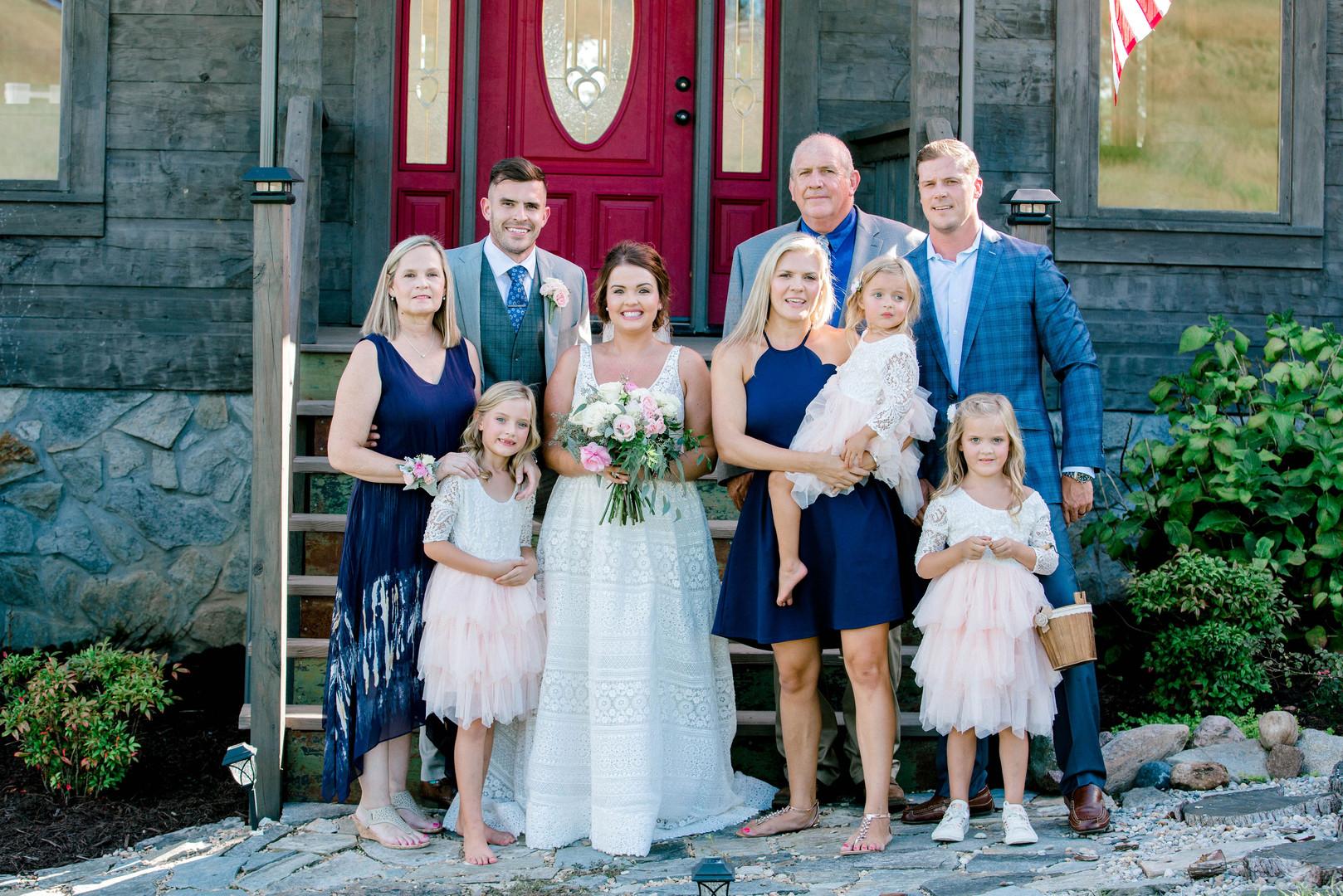 Groom family, beautiful people