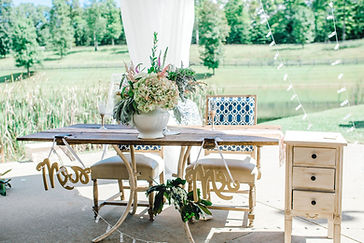 MADISON & IAN WEDDING BRIDE_GROOM TABLE