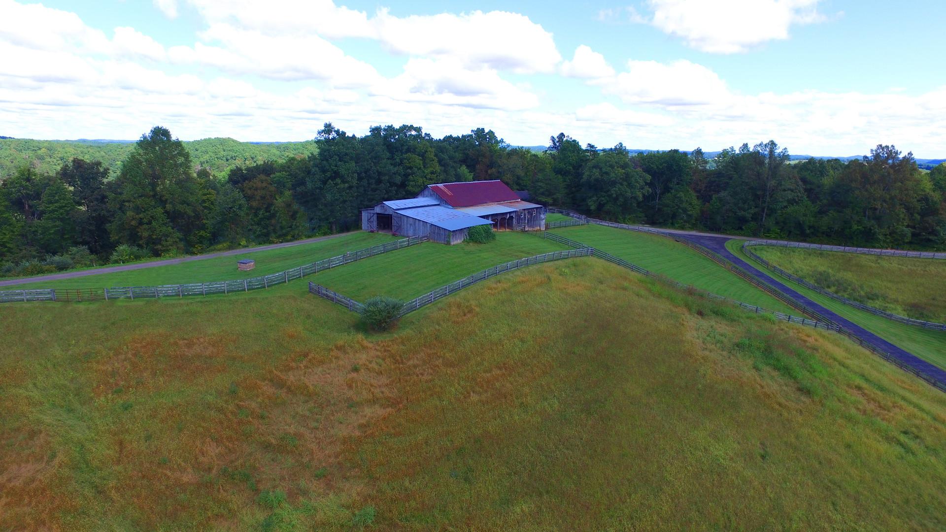 Lodge barn aerial