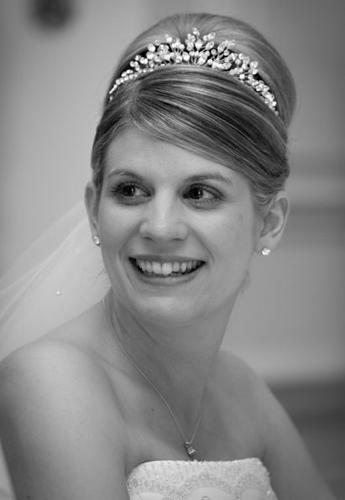 Classic bridal up-do