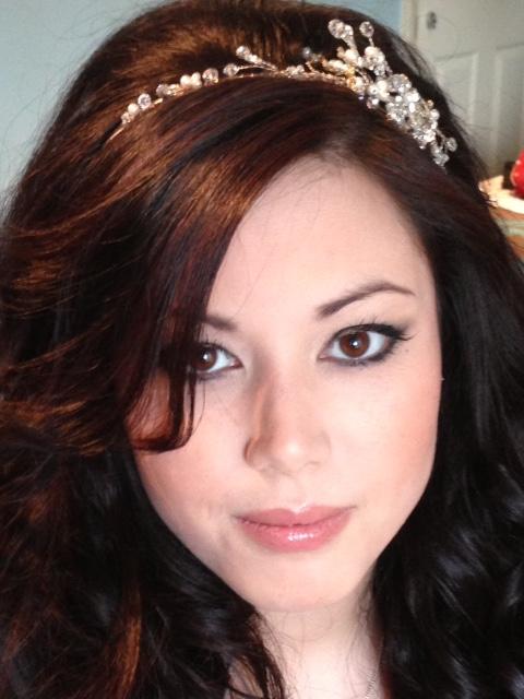 Airbrush bridal make-up