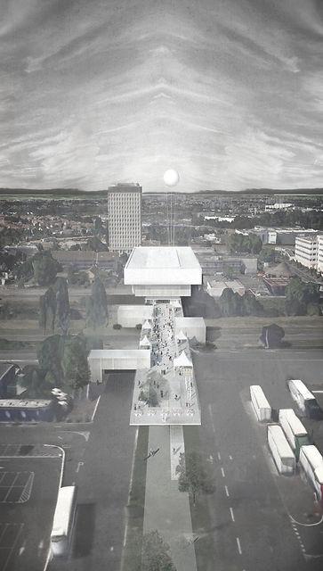 franchissement extraverti   wilmotte 2016   atelier du ralliement francois massin castan architecte