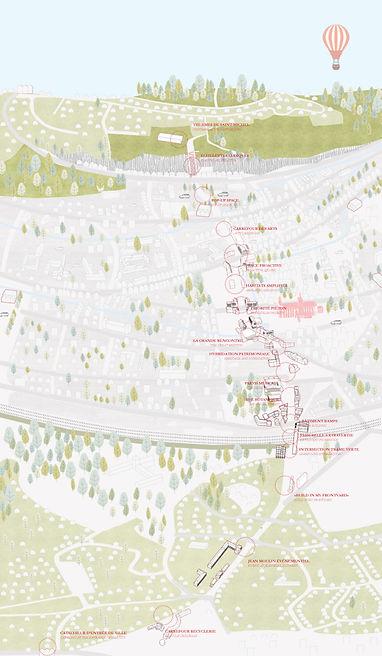 articulations d'intérêt collectif | Europan Evreux | Atelier du Ralliement Francois Massin Castan architecte