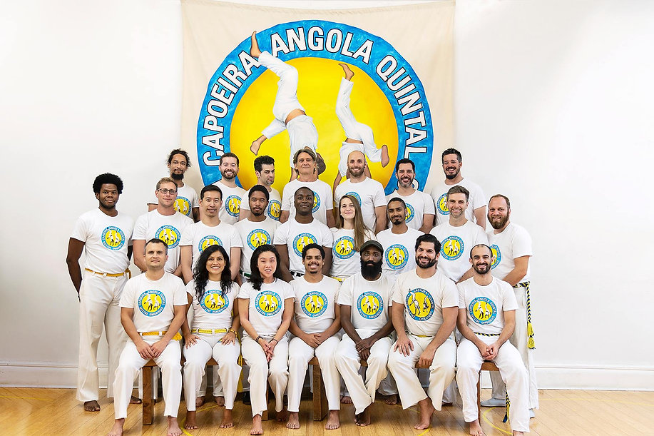Capoeira Angola Quintal Teachers and Leaders in New York City