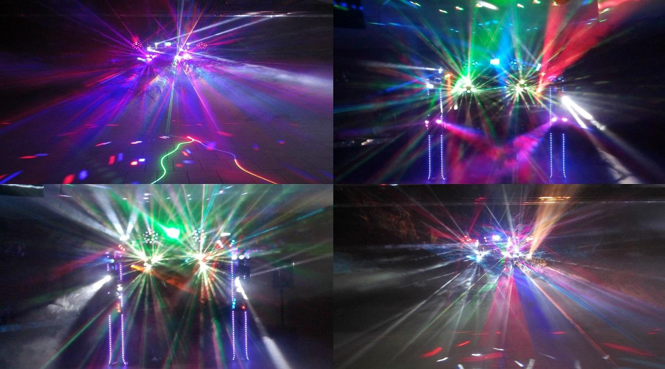 Ma disco-mobile effet 86