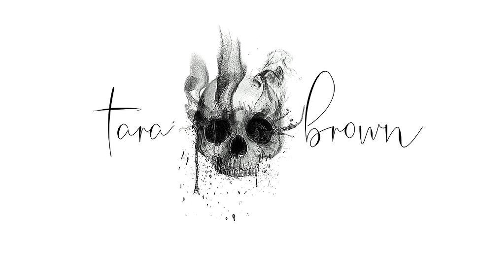 tara brown logo for dark romance and thr