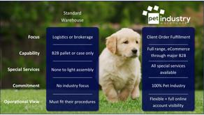 Standard Warehouse vs. Pet Industry Warehouse