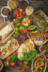 Panama City Beach | FINNS Island Style Grub | FINNS Barista Bar and Snack Shack | Fresh grub | Fish Tacos | shrimp | salads | tuna | ceviche | nachos | burritos | wraps | quesadillas | vegan | vegetarian | coffee | Noli South | kombucha | cold brew | muffins | cookies