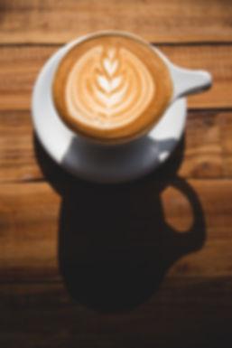 Panama City Beach | FINNS Island Style Grub | FINNS Barista Bar and Snack Shack | vegan | coffee | cashew milk | latte | latte art